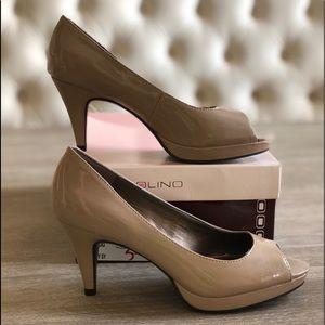Bandolino Shoes - Bandolino Peep toe platform pumps